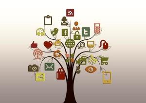 albero di natale social network - consigli per aziende web marketing  - Ideazione Studio Grafico