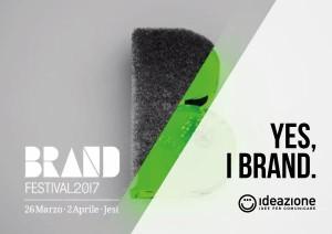 Brand Festival 2017 Ideazione studio grafico